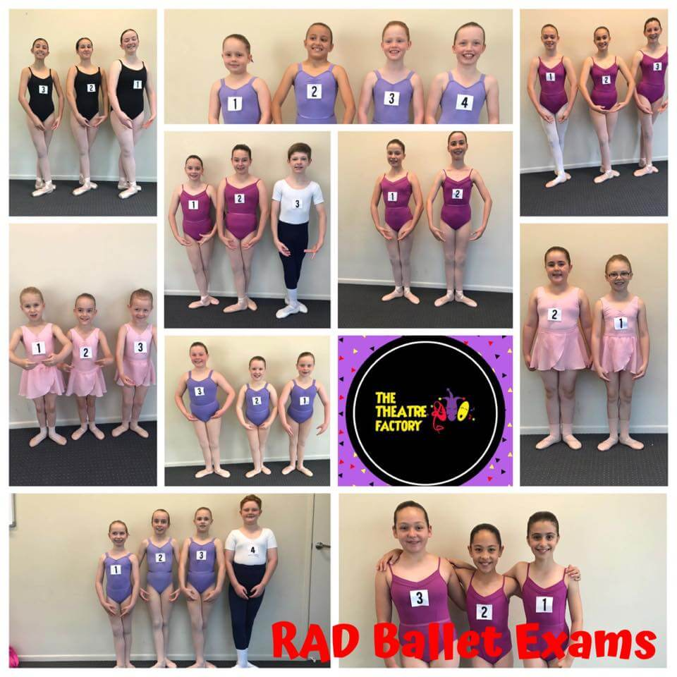 The Dance and Theatre Factory Ballet Examination