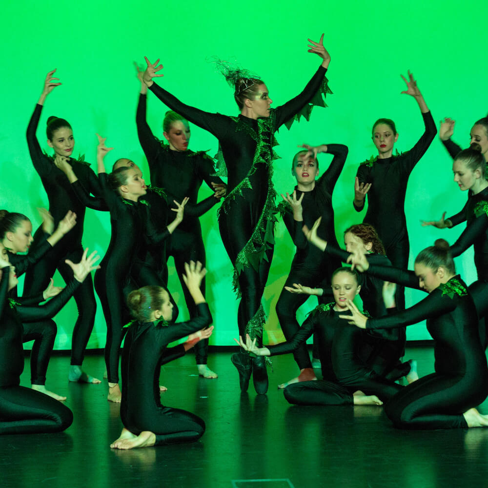 Lyrical Dance Group Shot