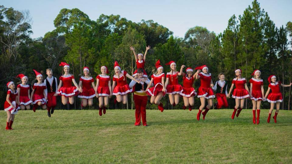 The Dance & Theatre Company Christmas Group Shot
